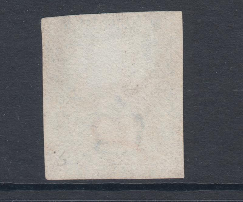 Great Britain SG 5, Sc 2, used. 1840 2p blue QV Plate 1, nearly 4 margins, sound
