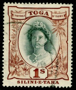 TOGO SG80, 1s black & red-brown, FINE USED.