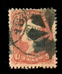 U.S. # 88 Used F-VF Cat $28