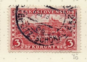 Czechoslovakia 1926-27 Issue Fine Used 3k. NW-148616
