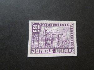 Indonesia Revolutionary 1946 Sc 1L41a MNH