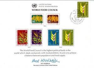UN SC10 Food Council Geneva Cancel FDC