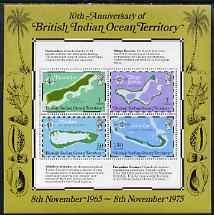 British Indian Ocean Territory 1975 10th Anniversary of T...