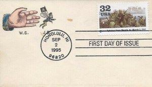 2981b 32c FIGHTING FREES MANILA - Vintage patriotic
