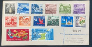 1960 Trinidad & Tobago First Day Airmail Cover FDC To New York Usa