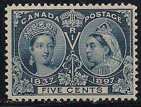 Canada 54 MNH - Victoria Jubilee
