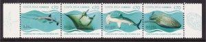 Costa Rica, Fauna, Fishes, Sharks, Rays MNH / 2019