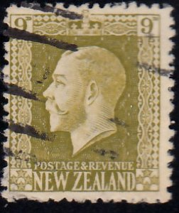 New Zealand Scott 158 Used with short perforation.