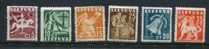 Lithuania #317-22  Mint