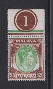 Malaya Malacca - 1949 - SG 17 - MNH