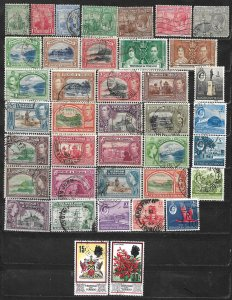 COLLECTION LOT OF 396 TRINIDAD & TOBAGO 1913+ STAMPS