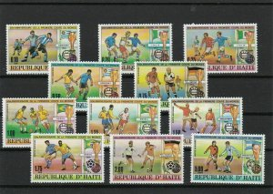 Republic of Haiti Football Mint Never Hinged Stamps Ref 26251