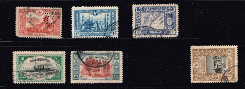 Turkey Stamp  USED S TAMPS COLLECTION LOT #5