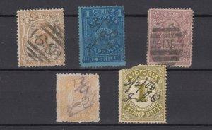 Victoria State QV Duty Revenue Collection Fine Used JK6315