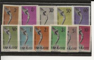 Uruguay C182-C192 Set MH