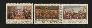 Romania 1968 #2055-7, Union, MNH.