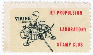 (I.B) US Cinderella : NASA Jet Propulsion Laboratory Stamp Club