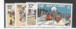 Isle of Man #413-417 MNH - Stamp - CAT VALUE $5.80