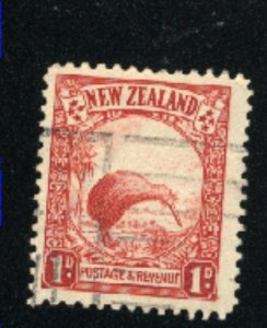 New Zealand  186  used  1935 PD