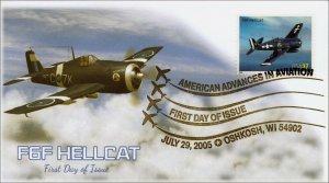 AO-3918-2, 2005, American Advances in Aviation, F6F Hellcat, BW Pictorial, Add