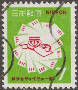 Japan stamp, Scott# 997, used, hinged, cultural,
