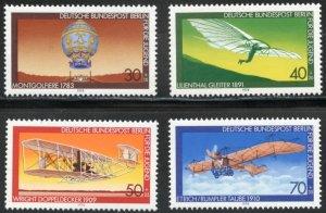 Germany-Berlin Scott 9NB153-56 MVFNHOG - 1979 Aviation Type - SCV $3.75