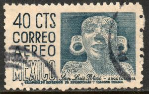 MEXICO C192, 40c 1950 Definitive FIRST PRINTING, wmk 279 Used. F-VF. (781)
