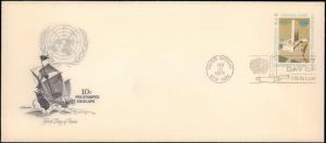 United Nations, New York, Postal Stationery, Ships, Worldwide First Day Cover