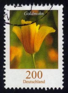Germany #2416 Goldmohn Flower; used (2.75)