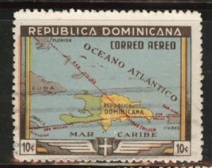 Dominican Republic Scott C62  used Airmails