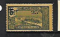 GUADELOUPE, 86, MINT HINGED HINGE REMNANT, GRAND TERRE