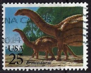 US ~ Scott # 2425 ~ Used ~ Brontosaurus