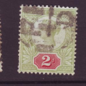 J19748 Jlstamps 1887-92 great britain used #113 queen