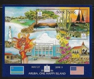 ARUBA  SC #   284  MNH