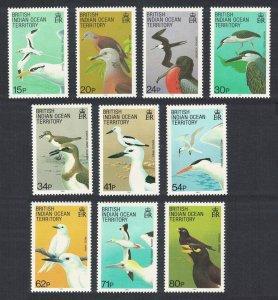 BIOT Birds 10v SG#90=100 CV£20+