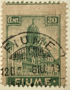 AlexStamps FIUME #32 POOR Used
