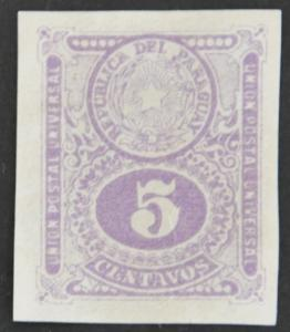 DYNAMITE Stamps: Paraguay Scott #192 (imperf) - UNUSED