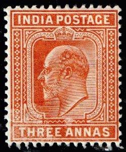 INDIA STAMP 1902 -1903 King Edward VII, 1841-1910 MH/OG