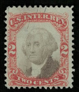 US, Inter revenue, 2 cents (3827-Т)