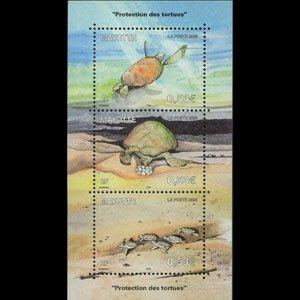 MAYOTTE 2006 - Scott# 223 S/S Turtles NH