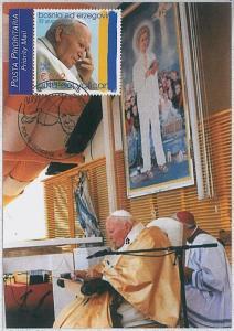 37284   MAXIMUM CARD - Bosnia and Herzegovina : Pope John Paul II 2003