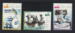 Aruba 70th Anniversary of Water Company WEB 3v SG#304-306