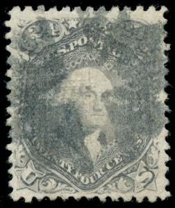 momen: US Stamps #99 Used VF/XF PF Cert