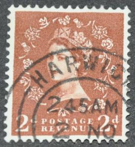 DYNAMITE Stamps: Great Britain Scott #356 - USED