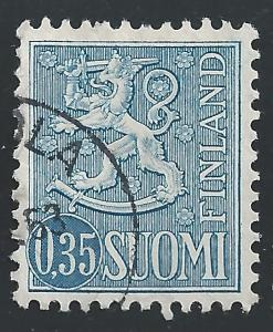 Finland #405 35p Arms of Finland