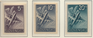Slovakia Stamps Scott #C7 To C9, Mint Hinged - Free U.S. Shipping, Free World...