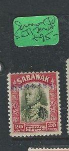 SARAWAK JAPANESE OCCUPATION (P2807B) 20C  SG J17  MNH