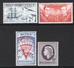 Ross Dependency 1967 Complete Set of 4 MNH