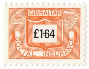 (I.B) Gibraltar Revenue : Social Insurance £1.64