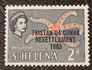 Tristan da Cunha Scott #57 mnh